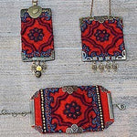 Bohemian Handmade set of Bracelet & choice of one Necklace out of two (Necklaces availabe separatly)