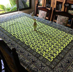 Large Bohemian hand Printed Table Cloth