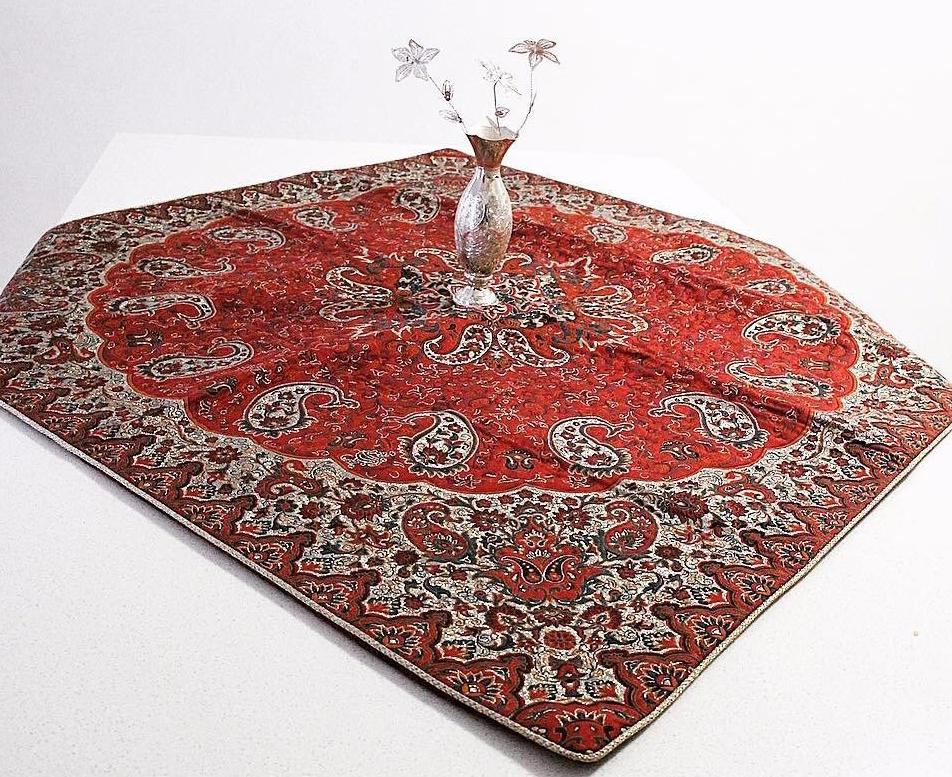 Bohemian Square Table  Cloth ( 1 Meter by 1 Meter)