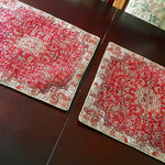 Two sets of Large Termeh cushion covers - Treasures of Silk Road