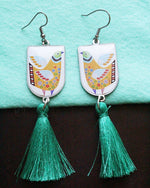 None Allergen Steel Tassel Bohemian Earrings - Treasures of Silk Road