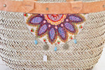 Large woven Beach Tote / basket - Treasures of Silk Road