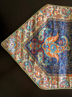 Bohemian Style Blue Table Runner - Treasures of Silk Road