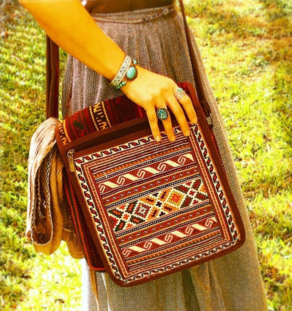 Genuine Hand Woven Killim Bags - Treasures of Silk Road