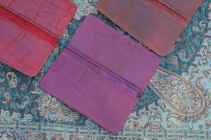 "Genuine Leather "" Love"" Female Wallet - Treasures of Silk Road"
