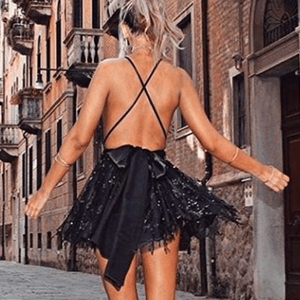 Backless Club Dress - Tia-Nova