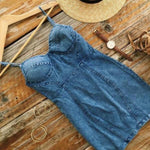 Casual Denim Dress - Tia-Nova