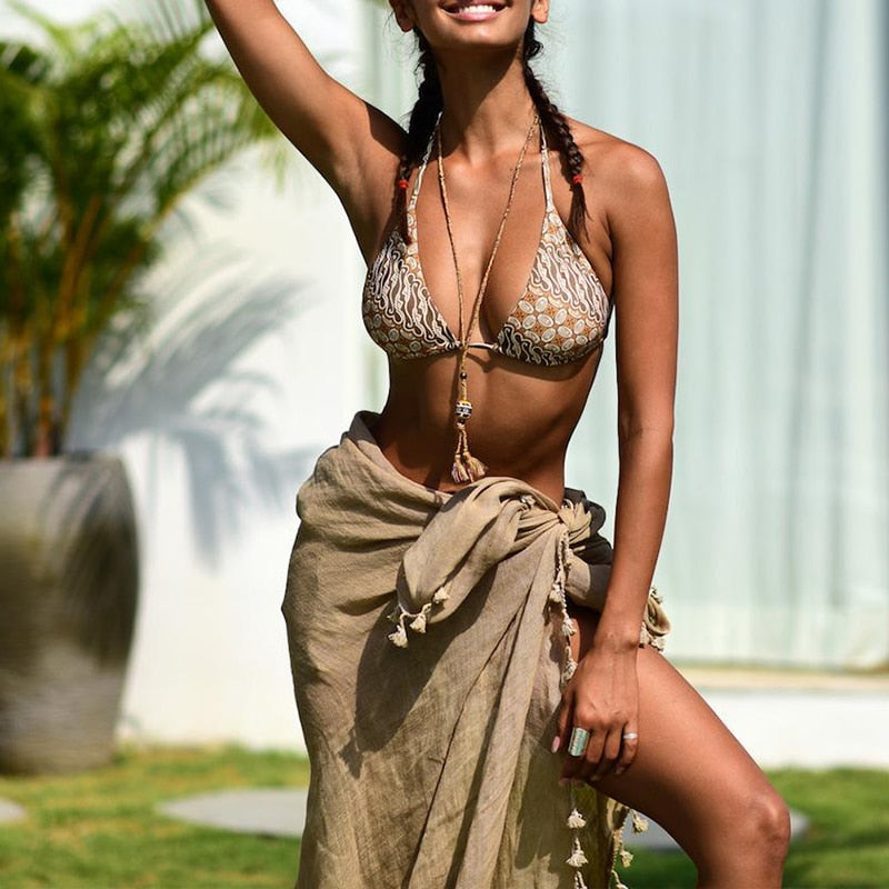Sarong Cover-up - Tia-Nova