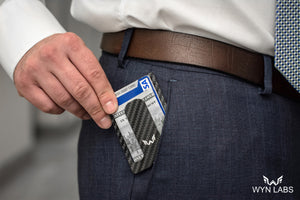 WYN Minimalist Wallet - Perfect For Everyday Use