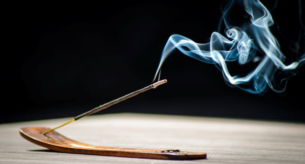 Using Incense for Smoking Sessions