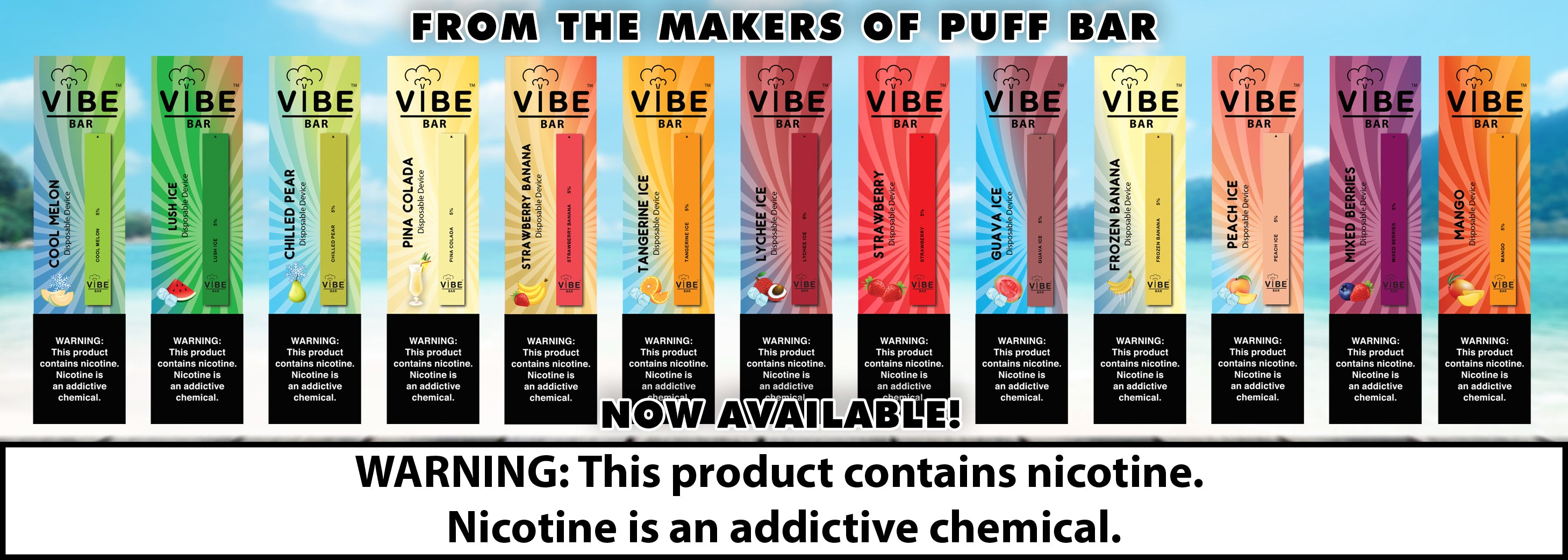 Vibe Bar Disposable Vape Pen