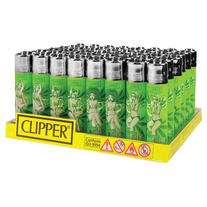 Clipper Maryjane Pinups Flint Lighter Display - Smoketokes