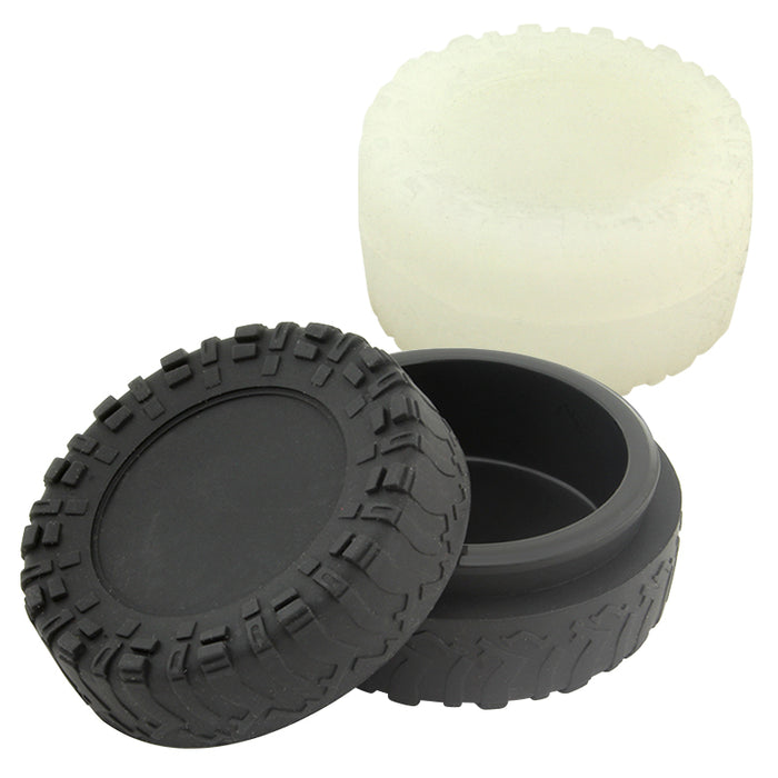 23ml Tire Silicone Jar - Smoketokes