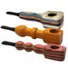 "4"" Colored Wooden Hand Pipe - Smoketokes"