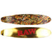 Raw Retro Gold Ducktail Longboard Skateboard - Smoketokes