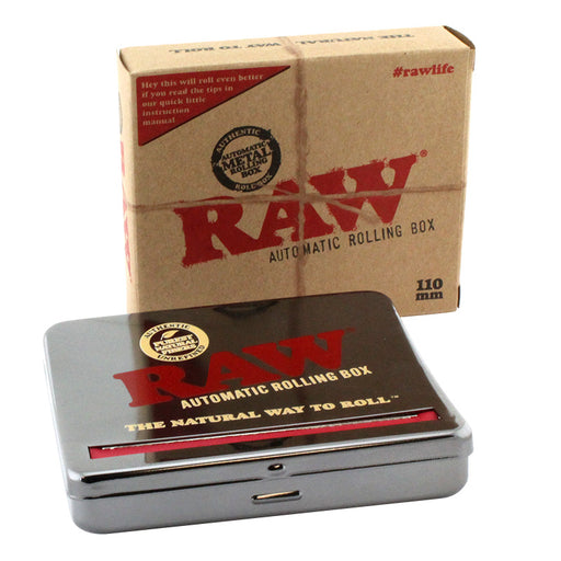 Raw 110mm Automatic Roll Box - Smoketokes