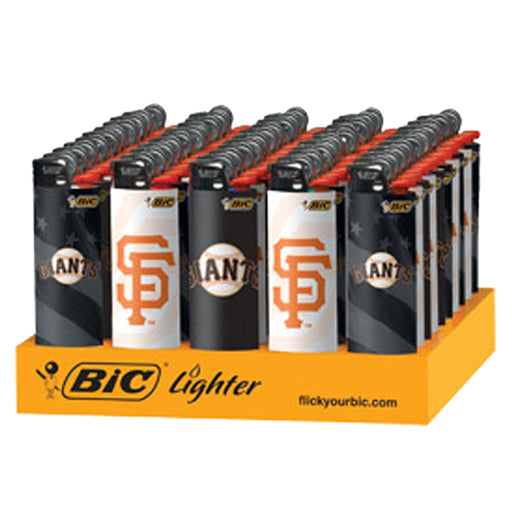 Bic Giants Flint Lighter Display - Smoketokes