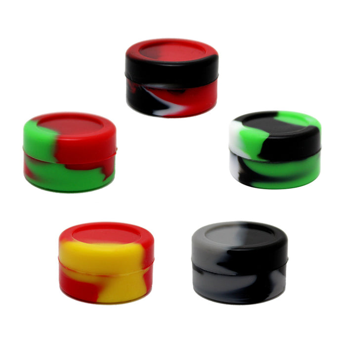 5ml Marbled Silicone Jar - Smoketokes
