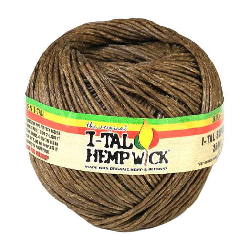 I-Tal 250ft Organic Hemp Wick - Smoketokes