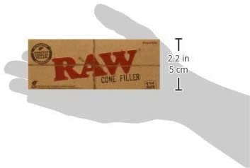 "Raw 1 1/4"" Size Cone Filler"