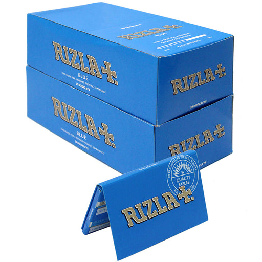 Rizla Blue Single Wide Rolling Paper - Smoketokes