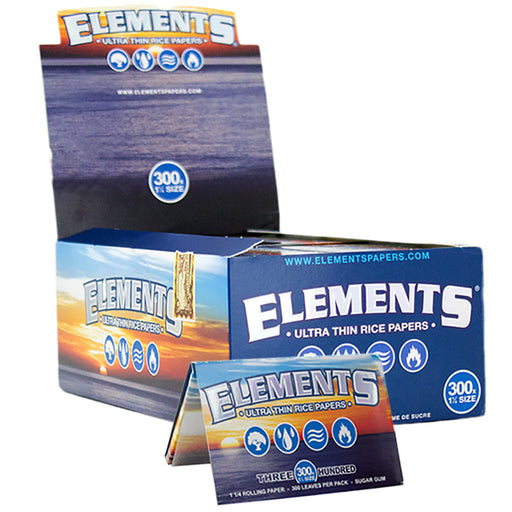 "Elements 300's 1 1/4"" Size Rolling Paper - Smoketokes"