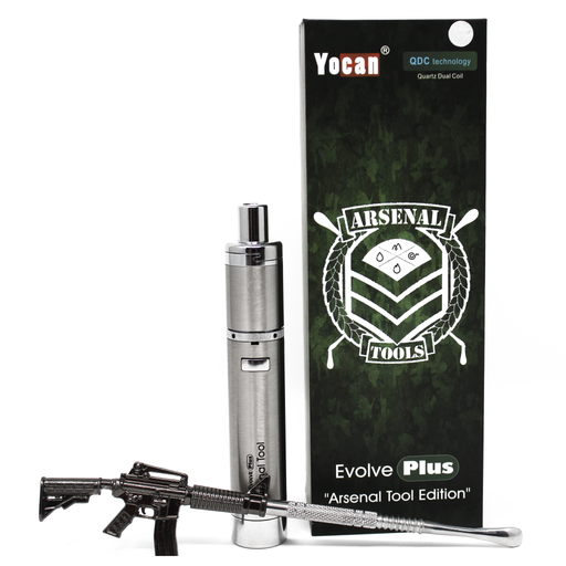 Yocan Evolve Plus Arsenal Tool Edition Wax Pen Kit - Smoketokes
