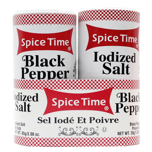 Spice Time Salt & Pepper Safe Can - Smoketokes