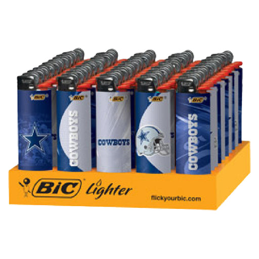 Bic Cowboys Flint Lighter Display - Smoketokes