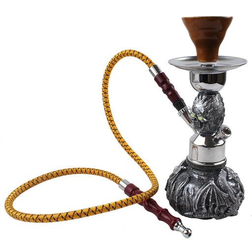 "10"" Dragon Single Hose Pumpkin Hookah - Smoketokes"