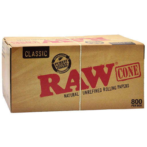 Raw Classic Pre-Rolled Cone 800ct - Smoketokes