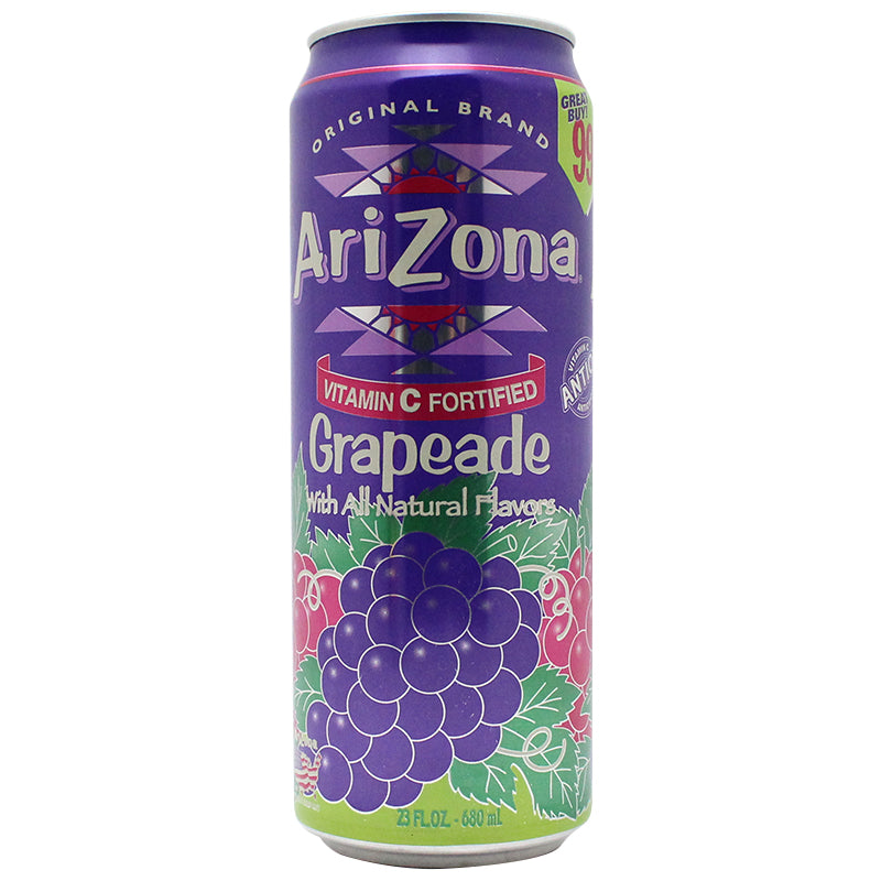 Arizona Grapeade 23oz Safe Can - Smoketokes