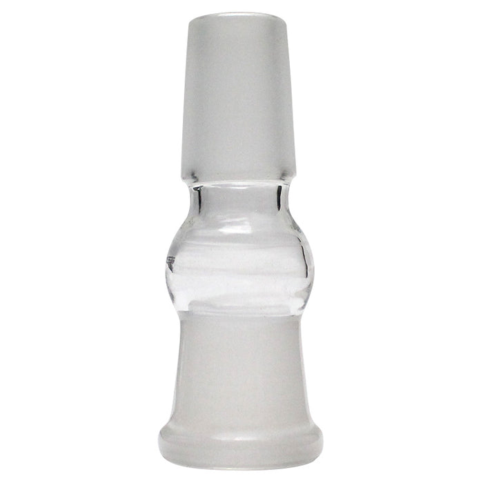 18mm Female to 18mm Male Glass Adaptor - Smoketokes