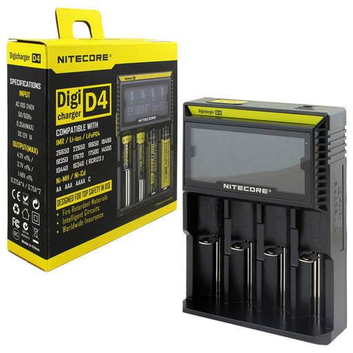 NITECORE D4 Battery Charger - Smoketokes