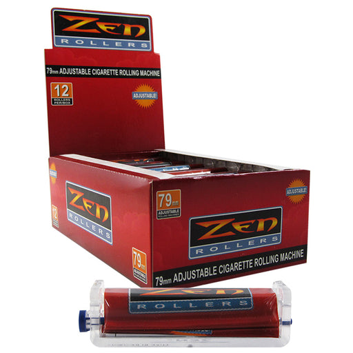Zen 79mm Adjustable Cigarette Rolling Machine - Smoketokes
