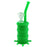 "8"" Oil Barrel Splash Silicone Oil Rig - Smoketokes"