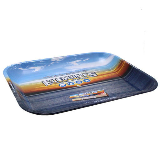Elements Large Metal Rolling Tray - Smoketokes