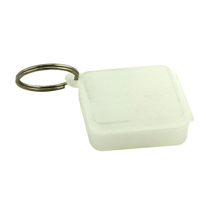 5ml Silicone Keychain Wallet Jar with Ring - Smoketokes