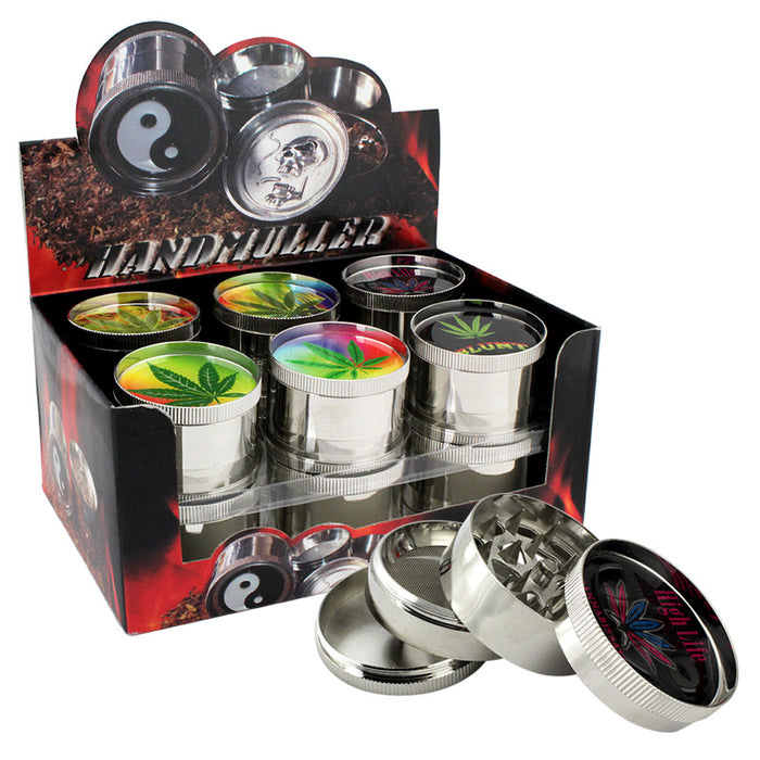 "4pt 2"" Handmuller Grinder Display - Smoketokes"