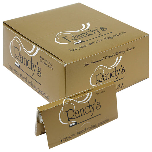Randy's Wired 110mm King Size Rolling Paper - Smoketokes
