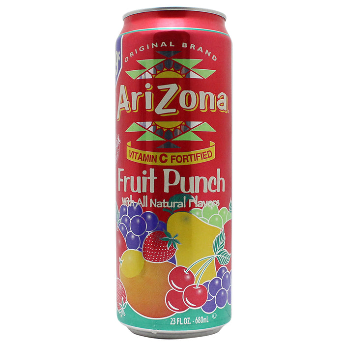Arizona Fruit Punch 23oz Safe Can - Smoketokes