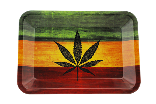 Rasta Tray MINI 7'' - Smoketokes