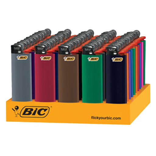 Bic Classic Flint Lighter Display - Smoketokes