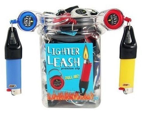 Premium Lighter Leash Jar - Smoketokes