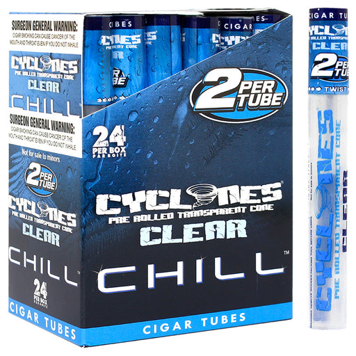 Cyclones Clear Cone Chill Flavor - Smoketokes