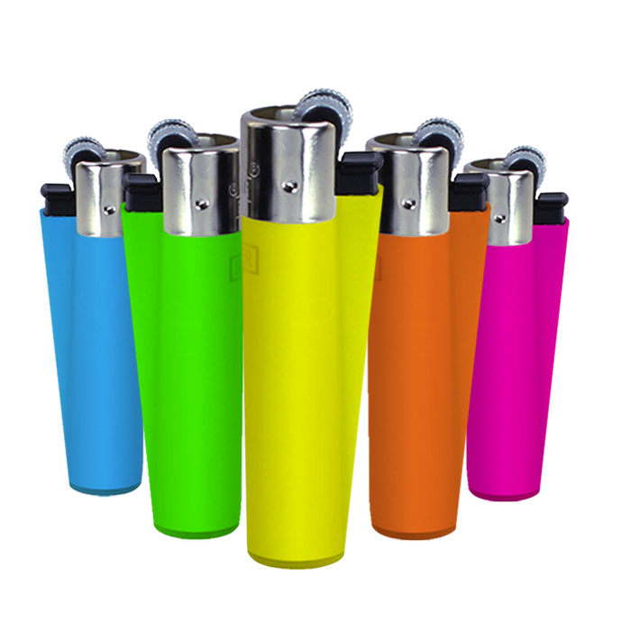 Clipper Fluorescent Lighter Display - Smoketokes