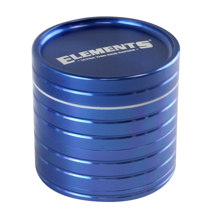 Elements 4pc 62mm Sifter Grinder - Smoketokes