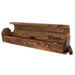 Leaves Wooden Incense Coffin Burner - Smoketokes