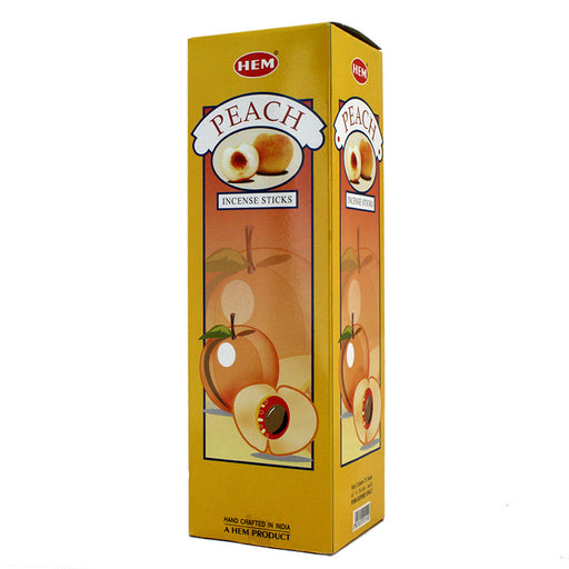 Hem Peach Incense Sticks 120 Box - Smoketokes