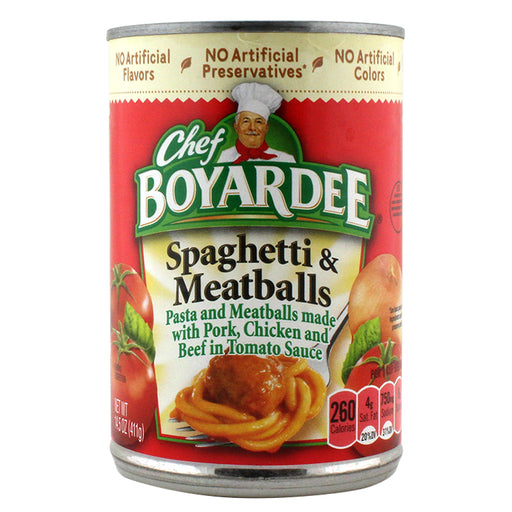 Chef Boyardee Spaghetti & Meatballs Safe Can - Smoketokes